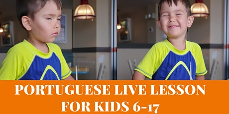 Free Trial - Online Portuguese Lesson for kids tickets