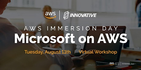 Microsoft on AWS Immersion Day - Presented by Innovative Solutions and AWS biglietti
