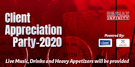 RE/MAX Infinity Client Appreciation Party 2020! tickets