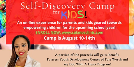 Dr. Payne's Self Discovery Camp for Kids tickets