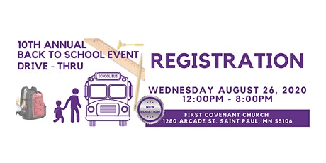 10th Annual Back To School Event Registration tickets
