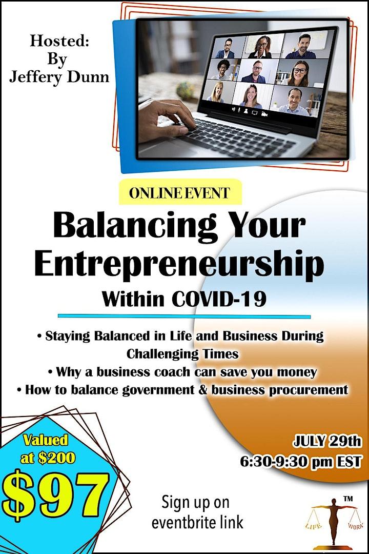 Balancing Your Entrepreneurship Within COVID-19 image