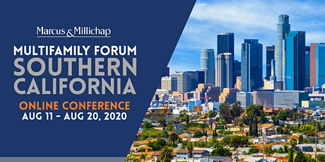 Marcus & Millichap Multifamily ONLINE CONFERENCE: Southern California tickets