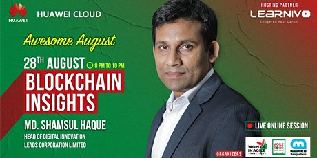 Blockchain Insights - LIVE Online Session FREE tickets