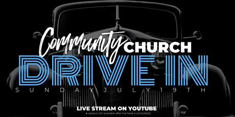 July 19, 2020 Drive In Church Service tickets