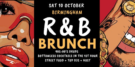 R&B Brunch 10 Oct BHAM tickets