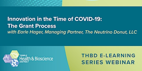 Innovation in the Time of COVID-19: The Grant Process tickets