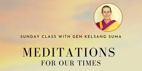 Meditations for Our Times tickets