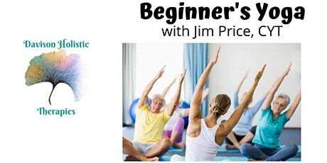 Beginner's Yoga w/Jim (Fri AM/Tue PM sessions) tickets