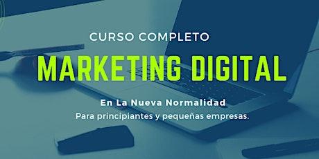 Marketing Digital en La Nueva Normalidad boletos