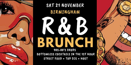 R&B Brunch BHAM 21 November tickets