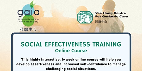 Social Effectiveness Training - Online Course (Cantonese) tickets