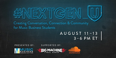 #NEXTGEN_U tickets