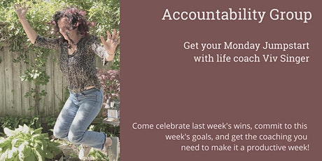Accountability Group: Your Monday Jumpstart Club tickets