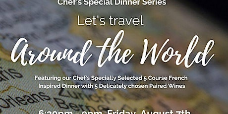 Around the World Chef's Special Dinner Series - France tickets