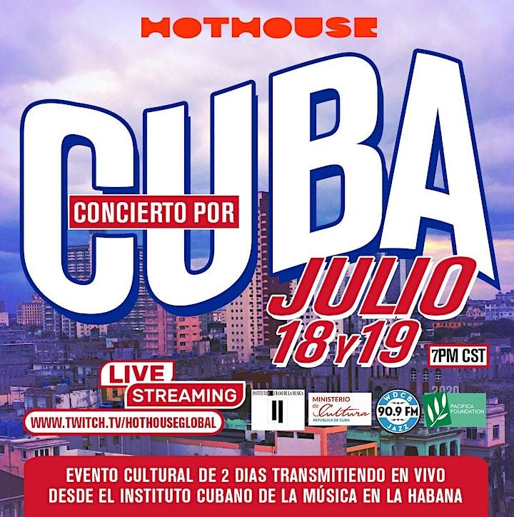 CONCERT FOR CUBA image