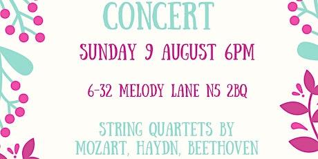 Melody Lane Courtyard Concert tickets
