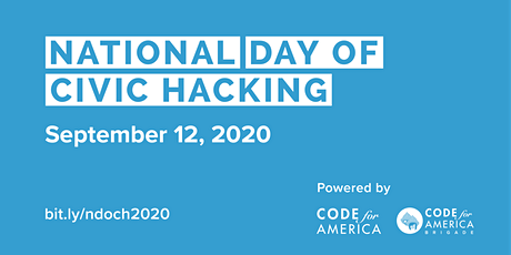 National Day of Civic Hacking 2020 tickets
