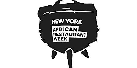 African Restaurant Week Festival tickets