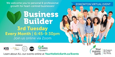 YHE Business Builder - Edmonton - Managing Stress & Energy tickets