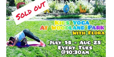 Free Kids Yoga at Woodland Park Vancouver tickets