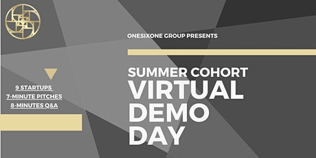 ONESIXONE Virtual Demo Day tickets