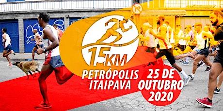 CORRIDA 15K PETRÓPOLIS ITAIPAVA - 25.10.2020 ingressos