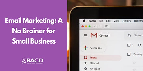 Email Marketing: A No Brainer for Small Business tickets