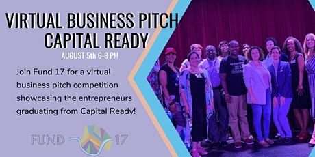 Virtual Business Pitch | Capital Ready tickets