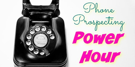 Tuesday Phone Prospecting Power Hour tickets