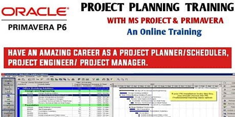 Project Planning Training with MS Project & Primavera tickets
