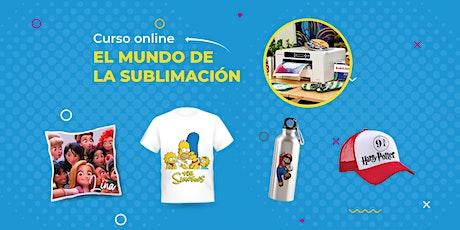 Curso Online - El Mundo de la Sublimación - USA tickets