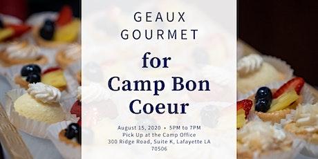 Geaux Gourmet for Camp Bon Coeur! tickets