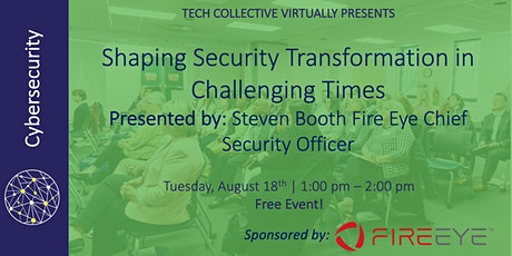 Shaping Security Transformation in Challenging Times tickets
