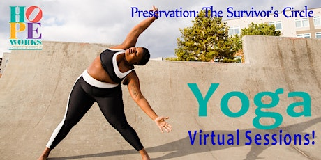 Yoga for Survivors - Virtual Sessions! tickets