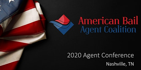 2020 American Bail Agent Coalition Conference tickets