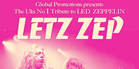 LETZ ZEP - POSTPONED UNTIL FRIDAY APRIL 9TH 2021 tickets