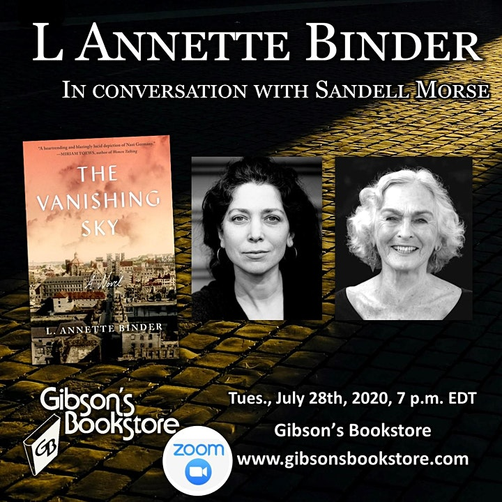 The Vanishing Sky, with author L. Annette Binder image