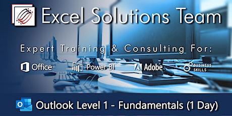 MS Outlook - Fundamental Skills (1-Day Training Webinar) tickets