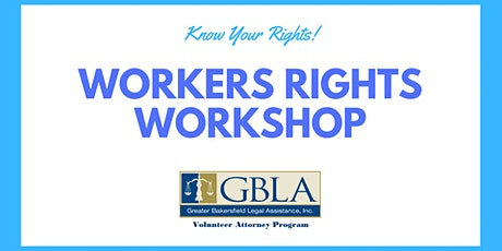 Workers' Rights Workshop tickets