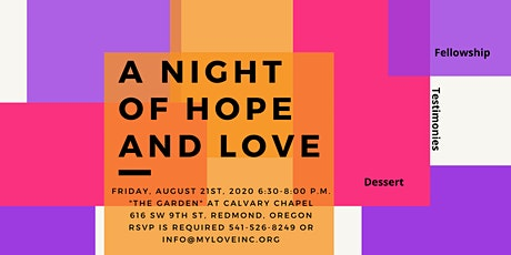A Night of Hope & Love tickets