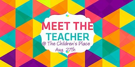 The Children's Place - Meet The Teacher night tickets