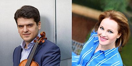Michael Barenboim, Violin/Viola X Natalia Pegarkova-Barenboim, Piano Tickets