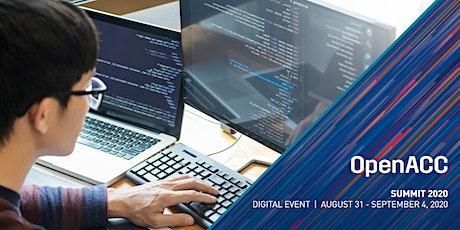 OpenACC Summit 2020 tickets