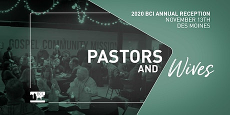BCI Annual Reception and Dinner tickets