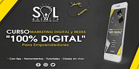 CURSO MARKETING DIGITAL y REDES para EMPRENDEDORES: 100% Digital boletos