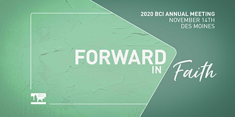 BCI 2020  Annual Meeting tickets