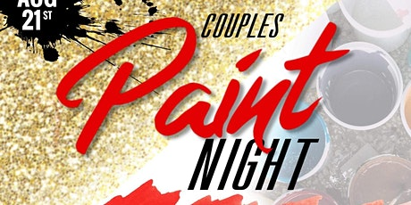 Couples Paint Night tickets