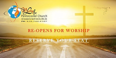 NEW LIFE PENTECOSTAL CHURCH REOPENING tickets