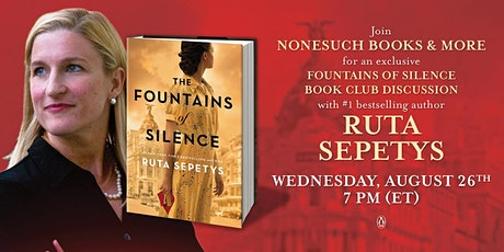 Fountains of Silence Summer Book Club Discussion with Ruta Sepetys tickets